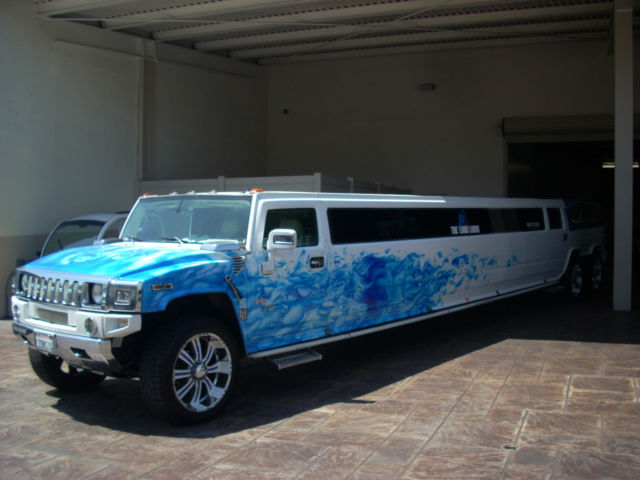 "2005 Hummer H2, Dual Axle, 200"" Stretch Limo with Jacuzzi ..."