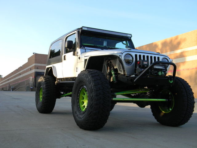 2005 Jeep Wrangler Unlimited Rubicon Supercharged Built