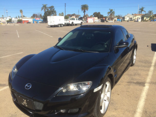 Mazda Rx Blackblack Shinka Low Miles Bat Mobile