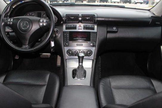 2005 mercedes benz c230 kompressor gray exterior black leather interior 150k