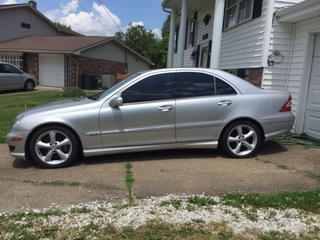 2005 mercedes benz c230 kompressor sport low reserve for Mercedes benz huntington phone number