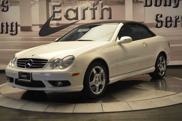 2005 Mercedes Benz Clk350 Leather Black Top Heated Seats Automatic Nice