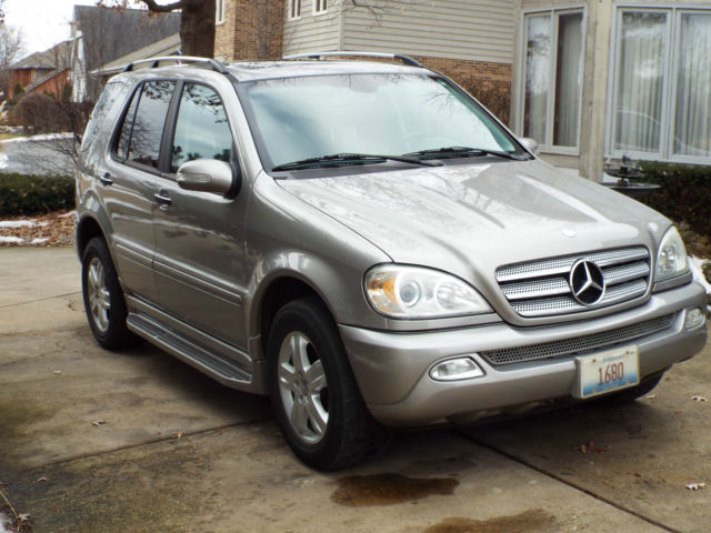2005 mercedes benz ml350 special edition pewter metallic for 2005 mercedes benz ml350