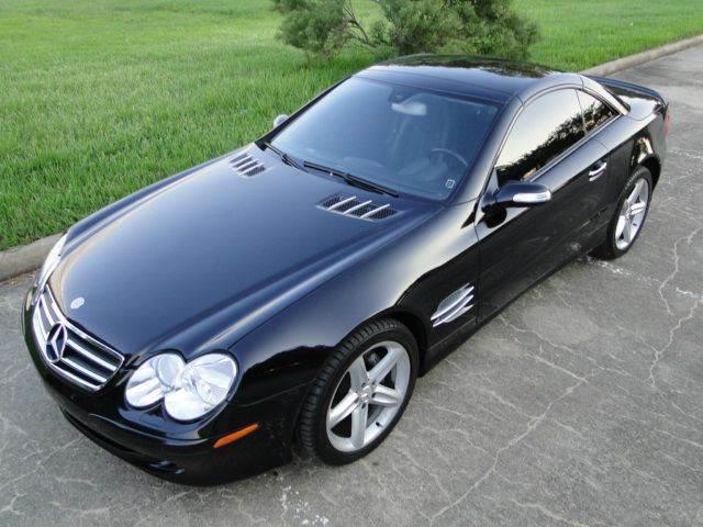 2005 Mercedes Benz Sl Cl Sl500 2dr Convertible