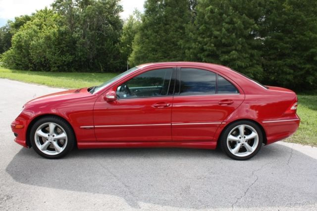 2005 Mercedes C230 Kompressor Sport One Owner Clean Carfax No Reserve