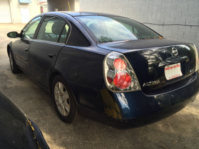2005 nissan altima 4dr sdn auto 2 5 s needs engine work motor buy cheap. Black Bedroom Furniture Sets. Home Design Ideas