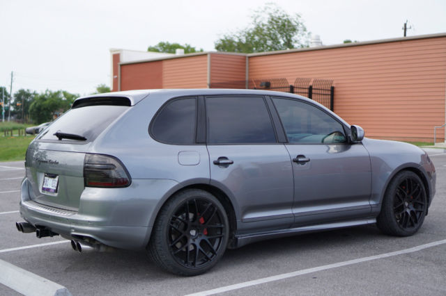 2005 Porsche Cayenne Turbo 955 Grey Black 22 In Wheels