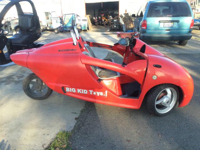 2005 Suntrike three wheel motorcycle reverse trike like a ...