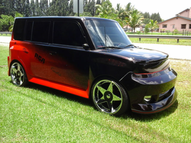 2005 unique wide body scion xb sema show car w custom paint interior. Black Bedroom Furniture Sets. Home Design Ideas