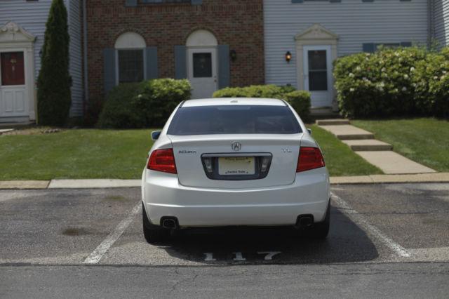 2006 Acura Tl White Diamond Pearl 6 Speed Manual