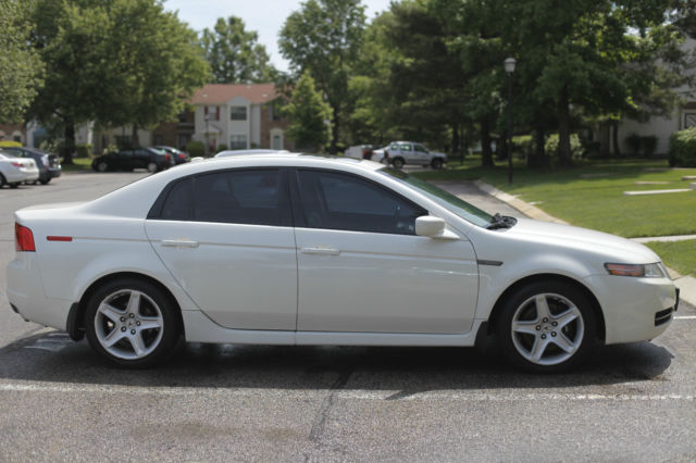 2006 Acura TL White Diamond Pearl 6 Speed (Manual ...