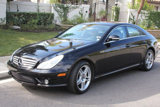 2006 black mercedes cls 500 with amg sports package low. Black Bedroom Furniture Sets. Home Design Ideas