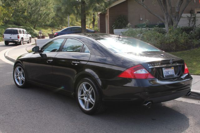 2006 Black Mercedes CLS 500 With AMG Sports Package Low milage