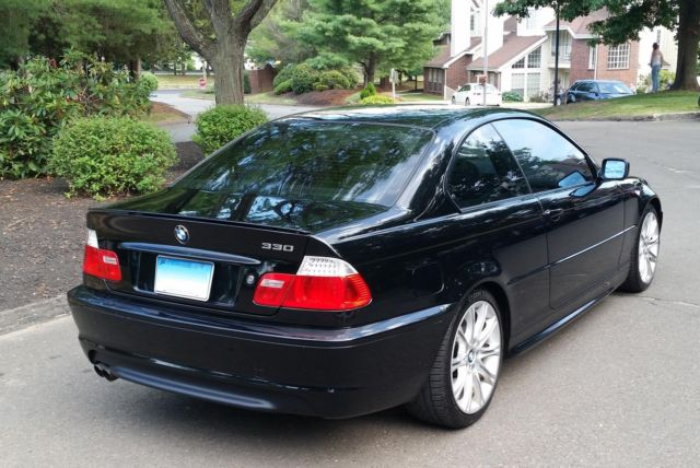 2006 Bmw 330 Zhp Black On Black 6 Speed 6mt E46 Coupe 330ci 300i Alcantara