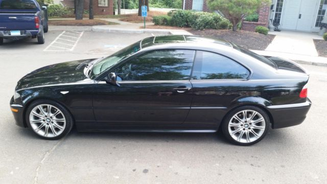 2006 Bmw 330 Zhp Black On Black 6 Speed 6mt E46 Coupe