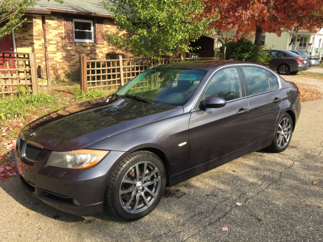 2006 bmw 330xi 3 series 4 door sedan dark grey all wheel. Black Bedroom Furniture Sets. Home Design Ideas