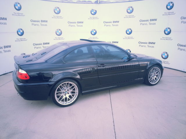2006 BMW M3 Competition Package 6 Speed Manual Transmission E46