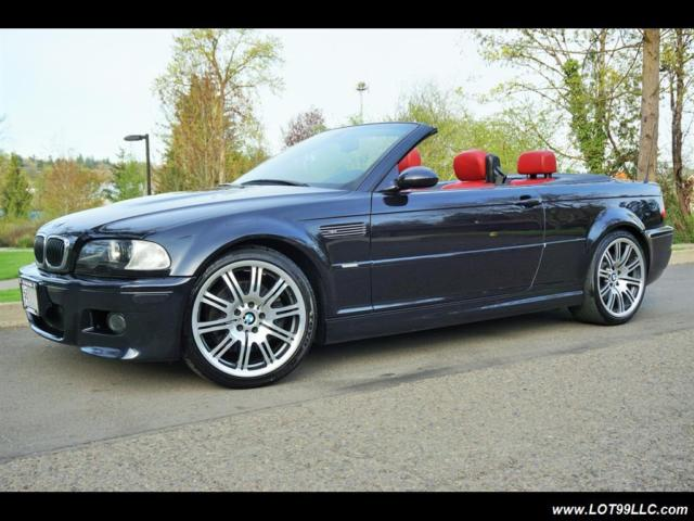 2006 Bmw M3 Convertible Red Interior 94k Super Clean Automatic 2