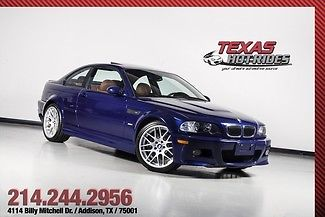 2006 BMW M3 ZCP Competition Pkg 6-Speed! Blue! Nav! SUPER ...