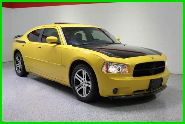 2006 Dodge Charger Rt Sedan 5 7l V8 Hemi Top Banana Edition Rear Tv