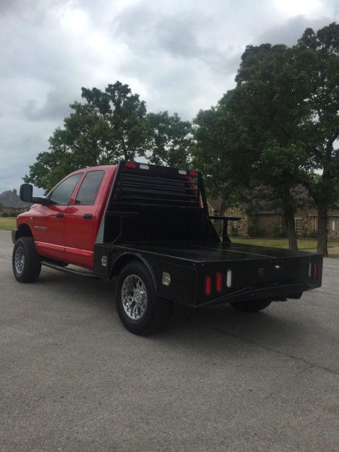 Texas Metal Dually >> 2006 Dodge Ram 2500 4 door 4X4 5.9L Cummins Diesel skirted flatbed Dually