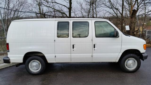 2006 Ford Econoline Cargo Van E 250 Shelving Amp Drivers