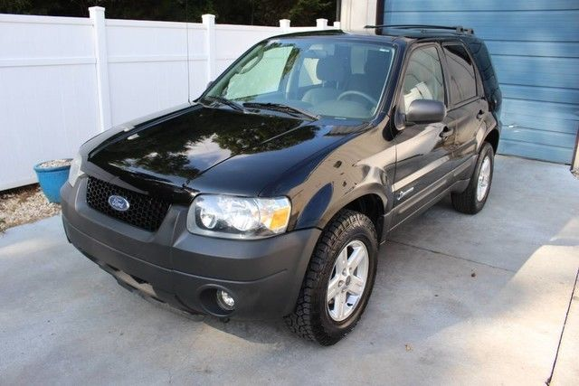 2006 Ford Escape Hybrid Electric Full Time 4wd Suv Navigation
