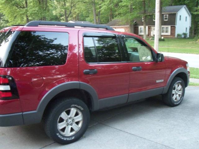 2006 Ford Explorer Xlt Advancetrac Rsc 4 Door Original Owner