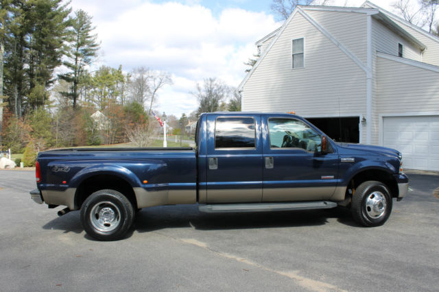 2006 ford superduty f 350 crew cab lariat dually 6 0 diesel leather seats. Black Bedroom Furniture Sets. Home Design Ideas