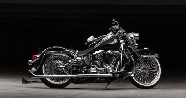 Harley Davidson Bike Covers >> 2006 Full Custom Cholo Style Harley Davidson Heritage ...