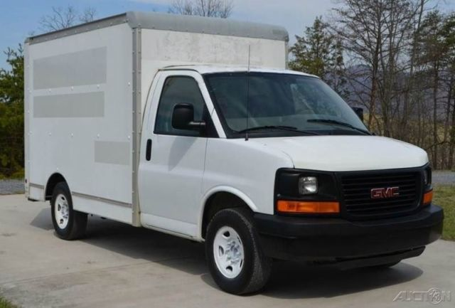 2006 Gmc Savana 3500 10 Ft Box Truck 1 Owner