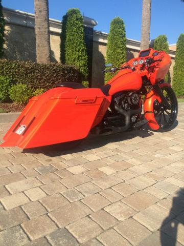 2006 Harley Davidson Road Glide Bagger Custom 26 Inch