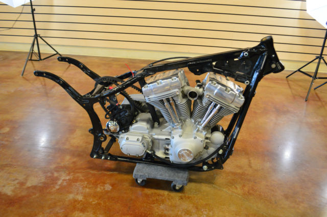 2006 Harley Davidson Softail Project Bike NO RESERVE Clean Title ...