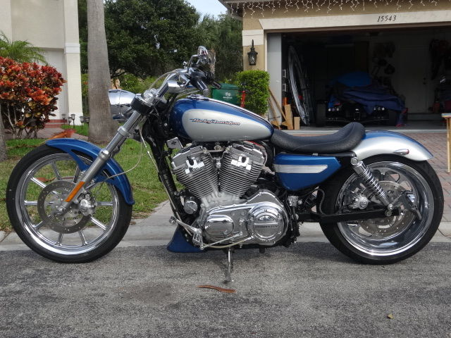 Tire Size Conversion >> 2006 HARLEY DAVIDSON SPORTSTER 883 CUSTOM 240 WHEEL TIRE - 200 MILES SINCE NEW