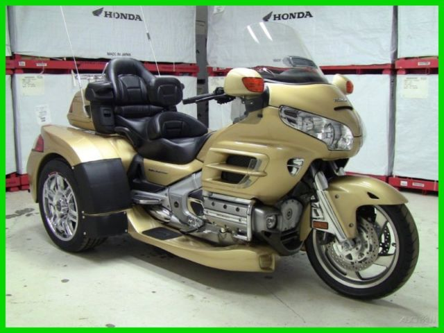 2006 honda gl1800hpm goldwing trike with new motor trike razor kit no fees ever. Black Bedroom Furniture Sets. Home Design Ideas