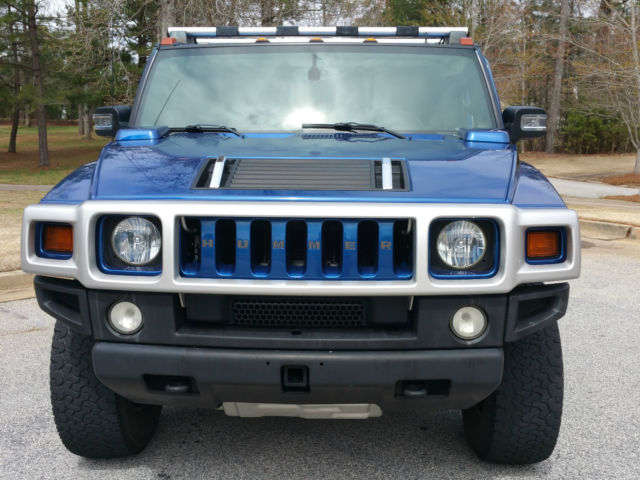 2006 In Pacific Blue Hummer H2 Sut Limited Edition Only