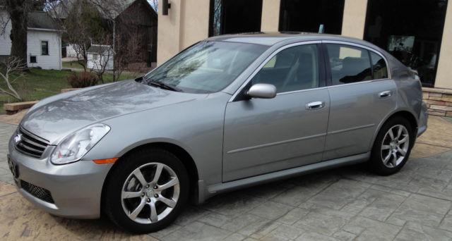 2006 Infiniti G35 X Sedan 4 Door 35l Not Salvage Bose Sound Loaded