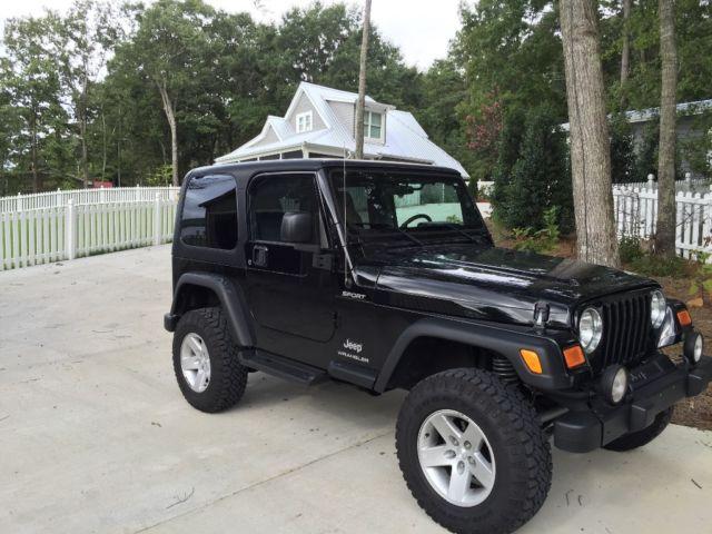 2006 jeep wrangler sport tj 6 speed manual 27526 original miles rh veh markets com 2006 jeep wrangler manual transmission noise 2006 jeep wrangler manual