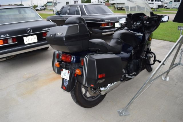 Kawasaki Concours  Rear Trunk
