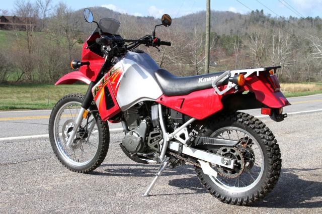 Kawasaki Klr Color By Year