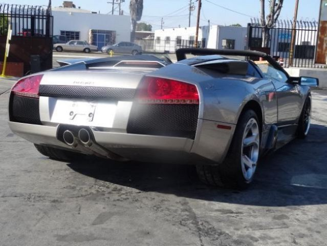 2006 Lamborghini Murcielago Convertible Fixable Damaged Project Save