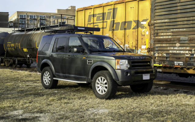 2006 land rover lr3 se v8 4x4 lifted with basket. Black Bedroom Furniture Sets. Home Design Ideas