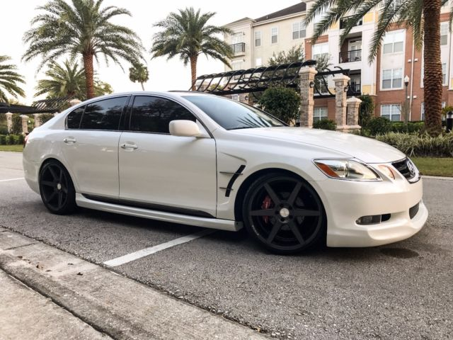 2006 lexus gs300 body kit stance wheels lowered mint. Black Bedroom Furniture Sets. Home Design Ideas