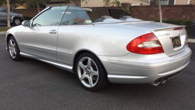 2006 mercedes benz clk 500 cabriolet for 2006 mercedes benz clk 500