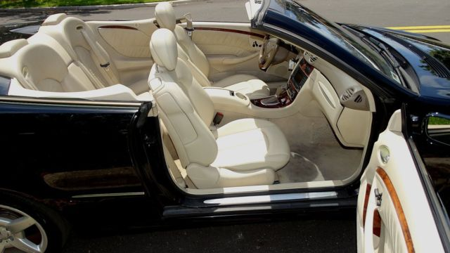 2006 MERCEDES BENZ CLK500 CABRIOLET POWER AND LUXURY IN A CLASSIC