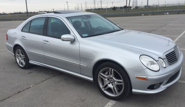 2006 mercedes benz e55 amg navigation heated cooled seats. Black Bedroom Furniture Sets. Home Design Ideas
