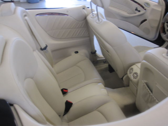2006 MERCEDES CLK500 CABRIOLET 1 OWNER CLEAN CAR FAX