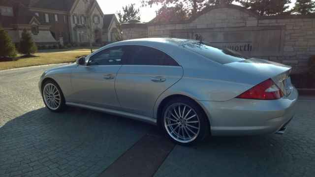 2006 mercedes cls 500 amg style 81k clean silver extras for Mercedes benz auto wreckers