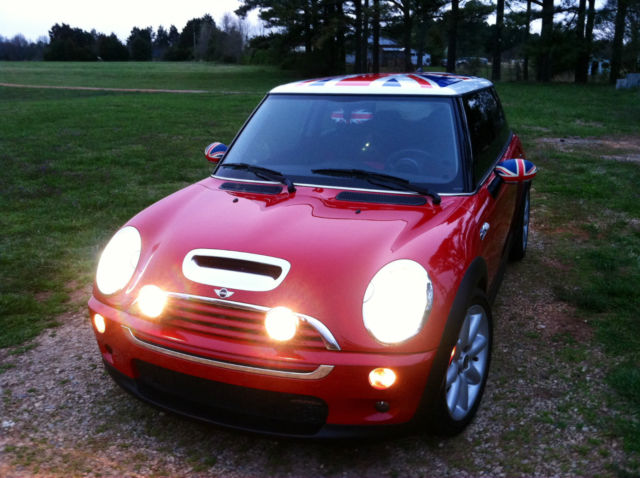 2006 Red Jcw Mini Cooper S Union Jack