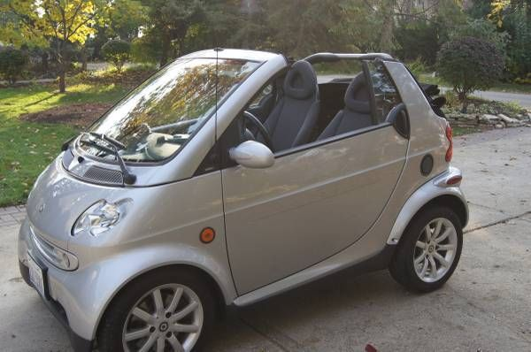 2006 smart car passion fourtwo turbo diesel 450 cdi tdi convertible super nice. Black Bedroom Furniture Sets. Home Design Ideas